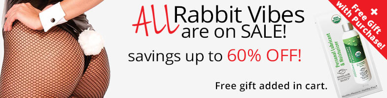ALL rabbit vibes are on sale! Savings up to 60% OFF.