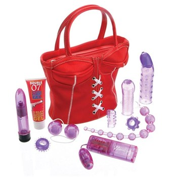 party girl toys in the bag