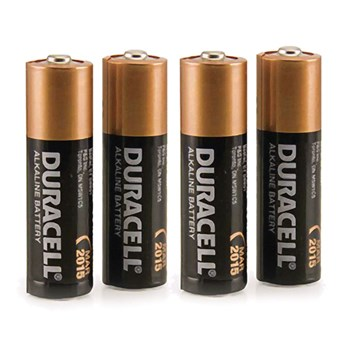 duracell aa 4 pack