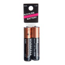 duracell aaa 2 pack batteries