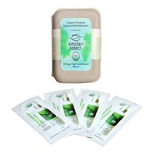 Sinclair SELECT USDA Organic Lubricant 15-Single Use Pack at BetterSex.com